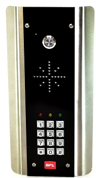Bft cellular call box with keypad surface mount Black Euro Style